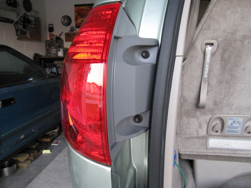 2004 Toyota Sienna Tail Light Relay Location wiring